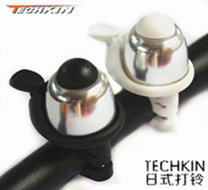 Factory production20651 TECHKIN high-end bicycle bell bicycle bell ringing non-rotating copper superior aluminum metal bells(China (Mainland))