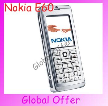 E60 Original Unlocked Nokia E60 mobile phone Triband 3G Bluetooth WIFI Cheap Smartphone refurbished 1 year warranty