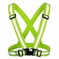 MNSD Strap Yellow Safety Vest Reflective Vest Chaleco Reflectante Reflective Vest Reflex Weste