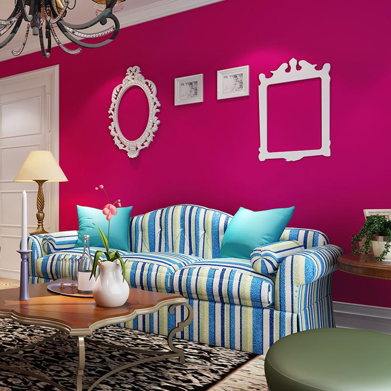 Papel de parede rosas vermelhas vender por atacado papel - Papel de pared moderno ...
