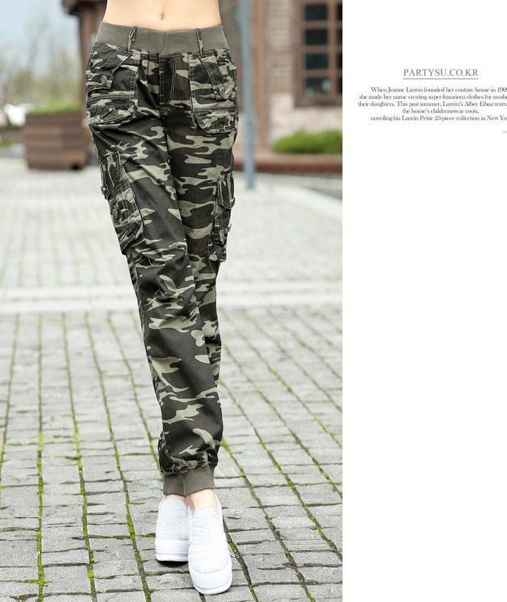 Pantalones De Mujer Tipo Militar Off 51