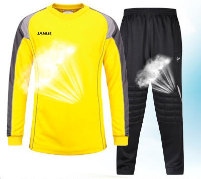 VipSport Soccer Goalkeeper Suit Keeper Jersey and Pant Football Sport Training Uniform(China (Mainland))