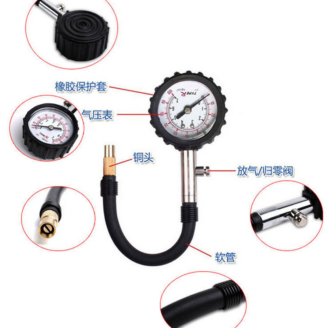 Popular Pressure Gauge Tire Buy Cheap Pressure Gauge Tire
