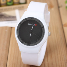 Hot Sale Famous Brand Silicone Band Women Watch 2015 New Design Ladies Wristwatch Fashion Casual Watch