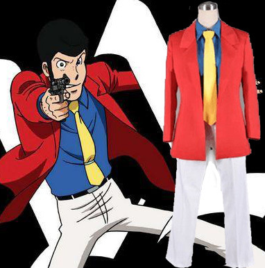 Lupin the Third 3rd III Rupan Sansei Cosplay Costume Anime Men Halloween Cosplay Uniform SuitОдежда и ак�е��уары<br><br><br>Aliexpress