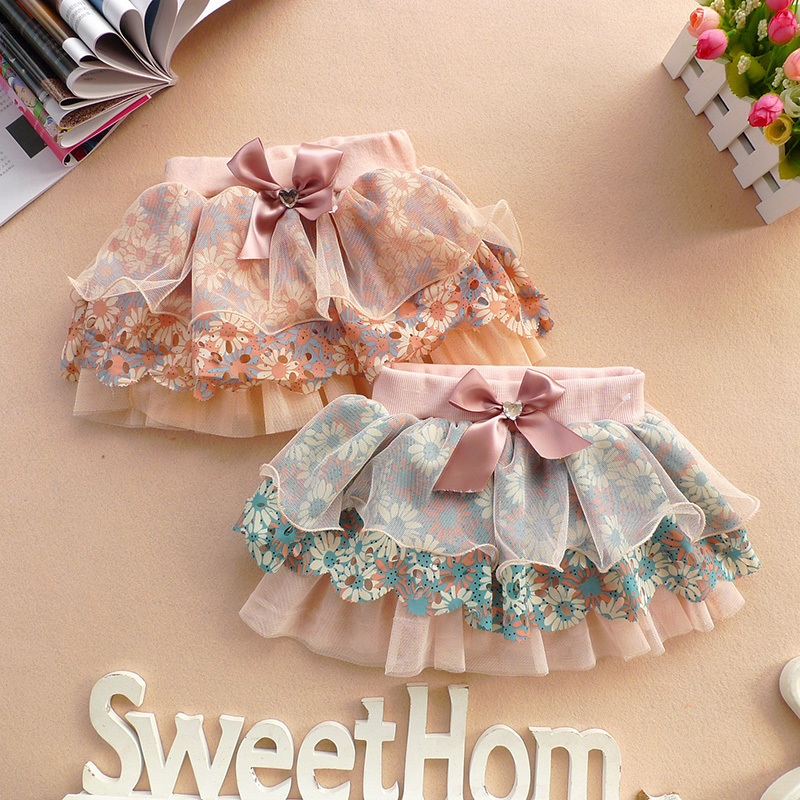 Гаджет  Pretty Baby Girl Toddler Ruffle Pants Nappy Cover Bloomers Skirt Layered Skirt Free shipping & Drop shipping None Детские товары