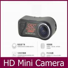 HD 1080P Mini Camera Portable DV H.264 Motion Detection Mini Camcorders 185 Ultra-Wide Angle Surveillance Cameras QQ7 Car DVR(China (Mainland))