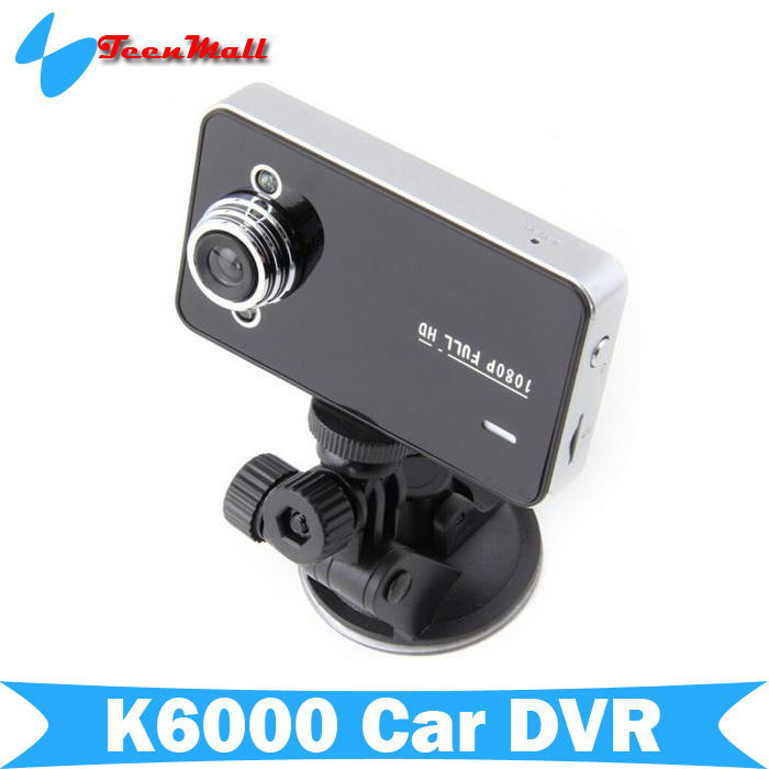 "Original Novatek Car Dvr K6000 1920*1080P Full HD 2.4"" LCD Night Vision 140 Wide Angle Lens automobiles Video Recorder(China (Mainland))"