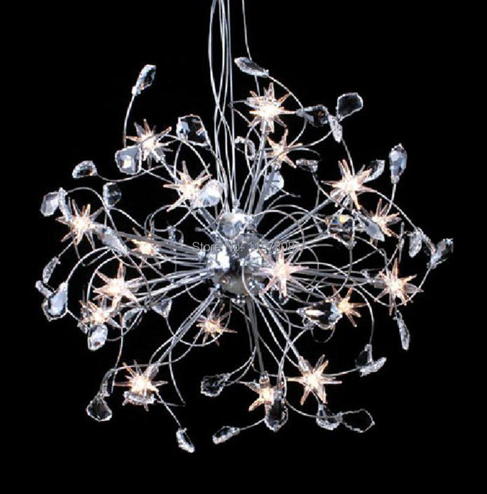 Acheter moderne lampe deco lustre en for Lustre moderne salle a manger