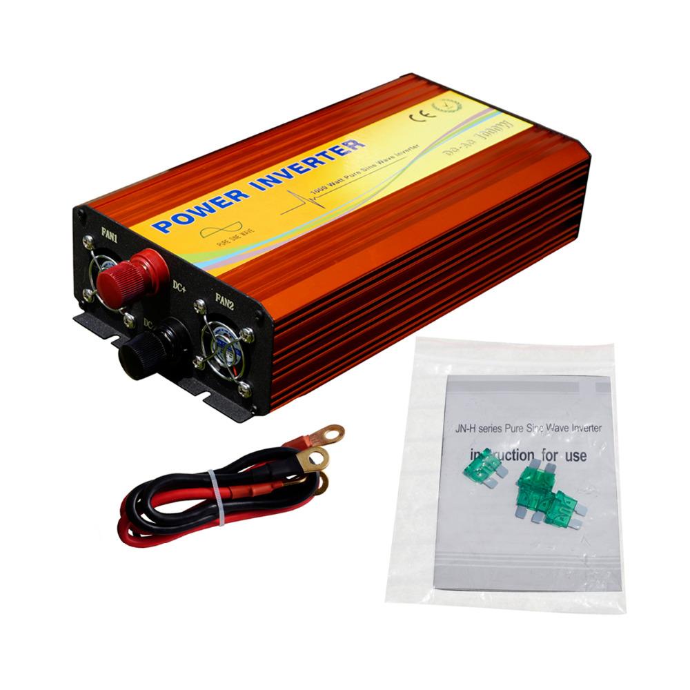 ECO-SOURCES 1000W Inverter 24V to 110V Off Grid Inverter 1KW Inverter for Solar Panel Solar System(China (Mainland))