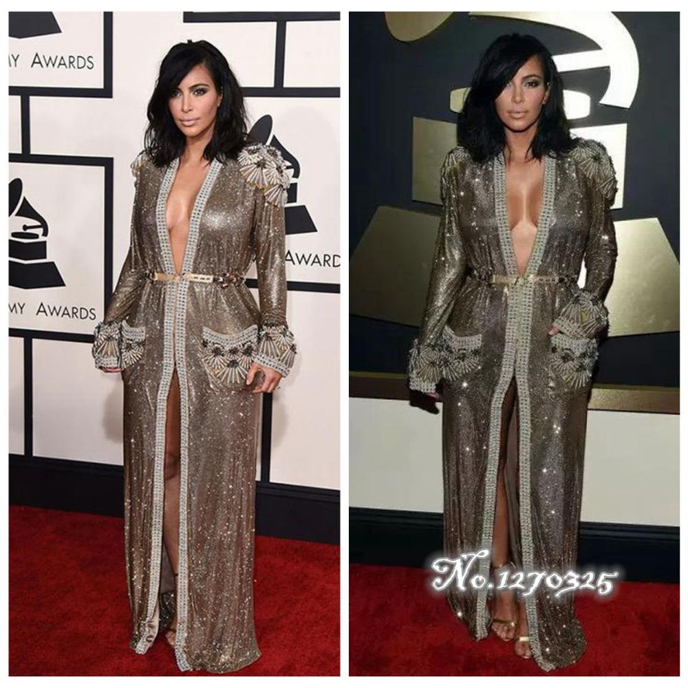 Popular Kim Kardashian Dress in Celebrity Inspired Dress-Buy Cheap ...