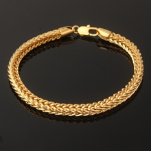 Hiphop Men Wristbands Jewelry Friends Snake Hand chain Men's bracelets Gold Charm Bracelets & bangles Love Gifts Accessories