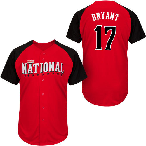 Compare Prices on Best Buy Jerseys- Online Shopping/Buy Low Price,SMKYRDC932,2015 Cincinnati all star National League Chicago Cubs jerseys 17 Kris Bryant 44 Anthony Rizz Jersey
