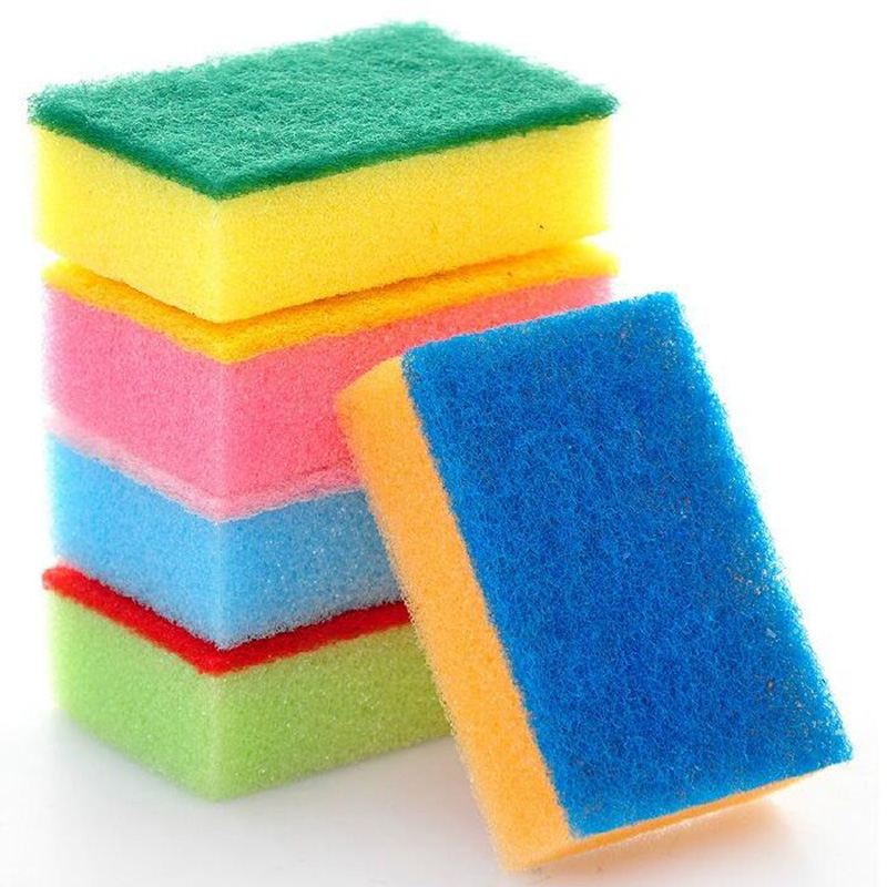 Soft Candy Sponge Useful Kitchen Cleaning Tool Magic Strong Decontamination Wiper Washing Cleaner Sponges & Scouring Pads(China (Mainland))