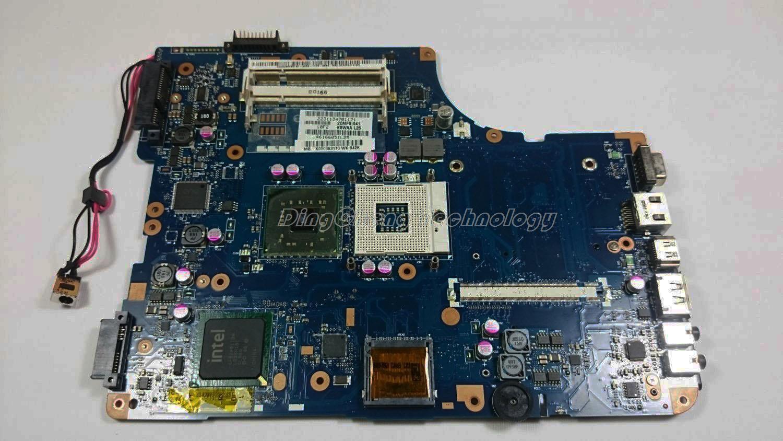 Original laptop Motherboard For Toshiba Satellite L550D K000083110 KSWAA LA-4981P GL40 CHIPSET DDR2 integrated graphics card(China (Mainland))
