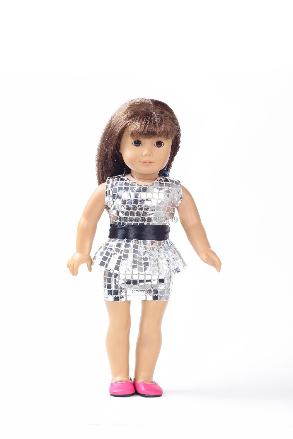 Free shipping!!! hot 2014 Christmas giftnew style Popular 18 American girl doll clothes/dress w127<br><br>Aliexpress