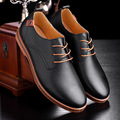 New 2016 Autumn 47 48 Men Pu Leather Shoes Casual Oxford Shoes Fashion Breathable Men s