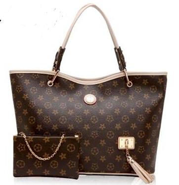 100% genuine leather handbag star with 7 colour printing lash handbags, o - lv2015 one shoulder big bags(China (Mainland))