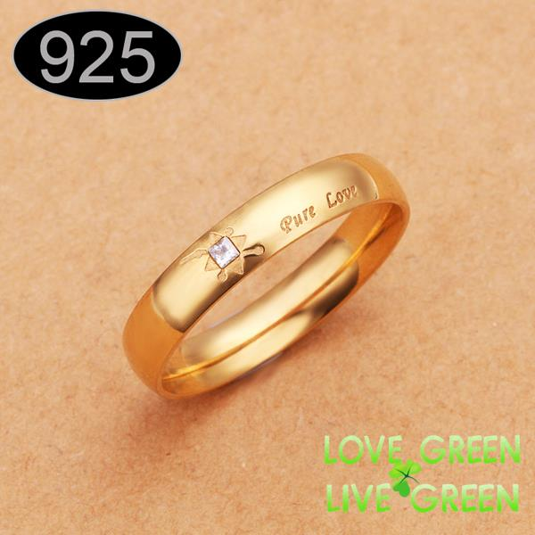 2014 fashion wedding Rings stainless steel Width 4MM fashion brand name wholesales jewelry for female women size 6 7 8 9(China (Mainland))