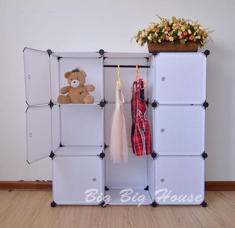 Folding Combination Wardrobe Baby Furniture Closet Storage