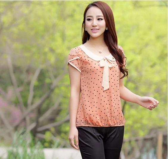 short sleeve blouse chifon   compra lotes baratos de short