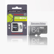 Hot! New Micro SD card memory card microsd mini sd card 8GB/16GB/32GB/64GB real capacity class 6 class 10 for cell phones tablet