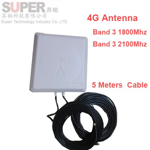 9dbi gain 4G mobile phone antenna 1800mhz-2600Mhz LTE antenna,4G booster Directional band 3 7 - Super Technology Industry Co., LTD store