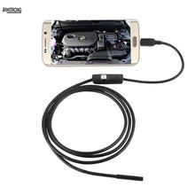 5.5mm Lens USB Endoscope 6 LED IP67 Waterproof Camera Endoscope 1M, Mini Camera Mirror As Gift Android OTG Phone Endoscopio(China (Mainland))