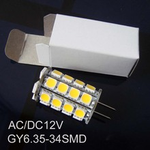 High quality 12V GY6.35 led lights,GY6.35 lights led,GY6 led bulb free shipping 10pcs/lot