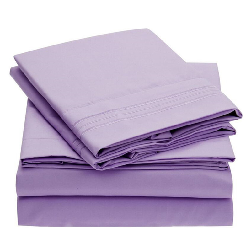 Microfiber cotton sheets promotion shop for promotional - Drap housse king size ...