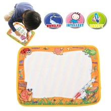 Water Drawing Board Painting Writing Mat 36*30cm With Magic Pen Set Doodle Toy Best Gift Educational Toys For Children Kids(China (Mainland))