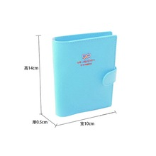 Women Wallets Bowknot Buckles Passport ID Credit Card Holder Protect Cover Case Travel Brand New Women