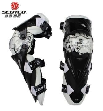 High Quality Authentic Motorcycle Knee Protector Motocross Racing Guard Knee Pads Protective Gear Scoyco K12(China (Mainland))