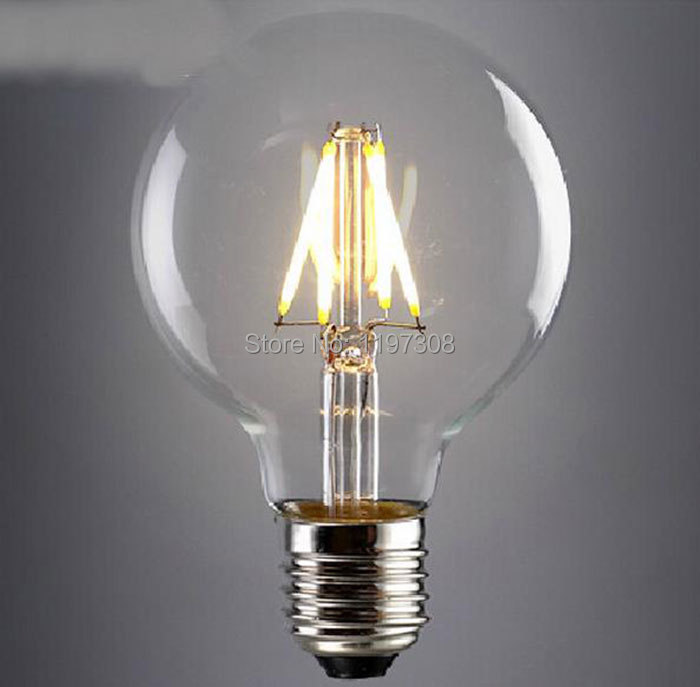 Brand New 2015 Antique Retro Vintage 110- 220V Edison Light LED Bulb E27 Bulbs G95 Squirrel-cage LED Filament Bulb Edison Lamp(China (Mainland))