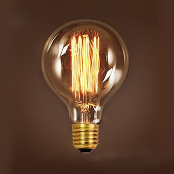 ... Antique Retro Vintage 40W 60W 220V Edison Light Bulb E27 Incandescent  Light Bulbs G95 Squirrel- ...