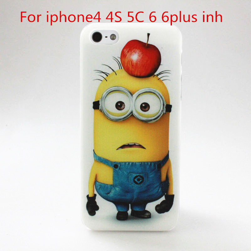 2015 Hot Simpson head case for Apple iphone4 4S 5C 6 6plus free shipping vacancies accurately and effectively cover(China (Mainland))