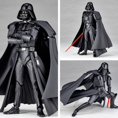 Star Wars The Force Awakens The Black Series Darth Maul Darth Vader Kylo Ren Captain Phasma Stormtrooper Boba Fett Figure Model