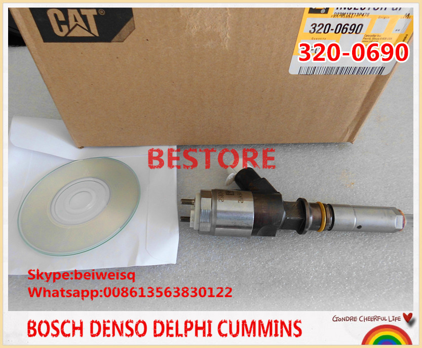 Genuine C A T Fuel Injector 320-0690 for C6.6 Engine(China (Mainland))