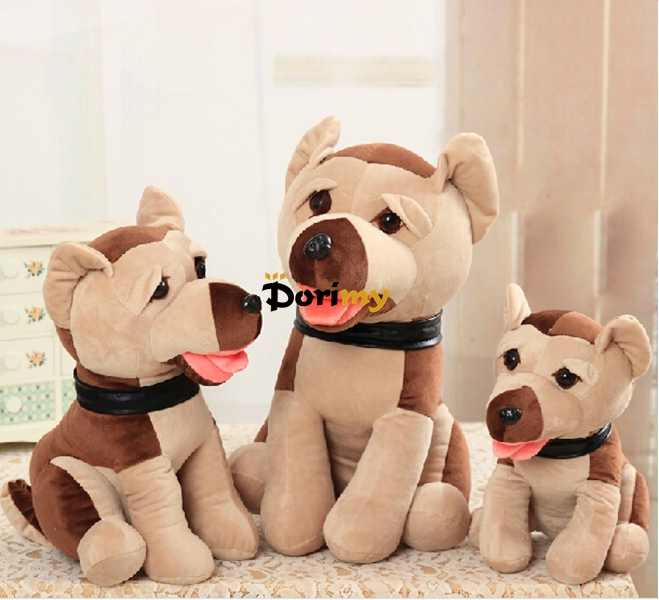 Dorimytrader 24'' / 60cm Giant Lovely Stuffed Soft Plush Cute Animal Dog Toy, Nice Gift For Babies, Free Shipping DY60260(China (Mainland))