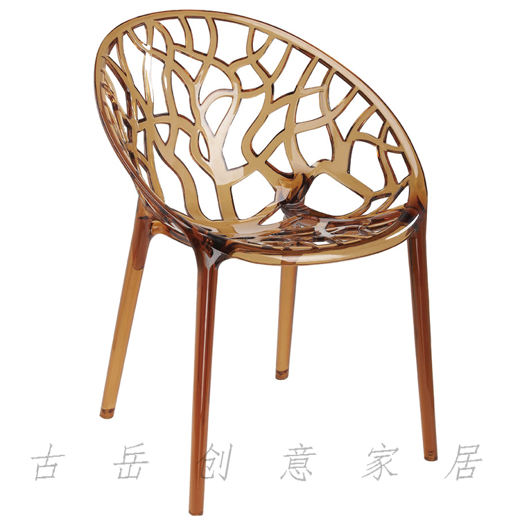 Transparent chairs creative fashion casual and simple devil negotiate export acrylic resin Continental hotel chair(China (Mainland))