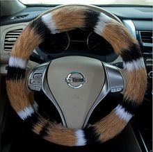 Buy Fox hair car steering wheel cover Fit 95% Car Styling vw/ford/toyota/nissan etc.,size 38cm Cheap&High for $25.15 in AliExpress store