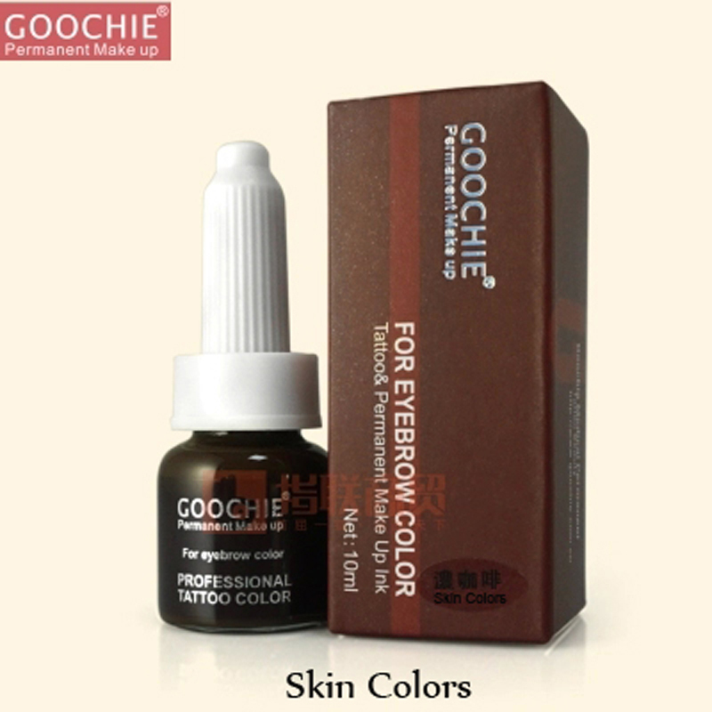 Eyebrow Pigment Goochie Permanent makeup ink for microblading permanent makeup beauty Skin Colors<br><br>Aliexpress