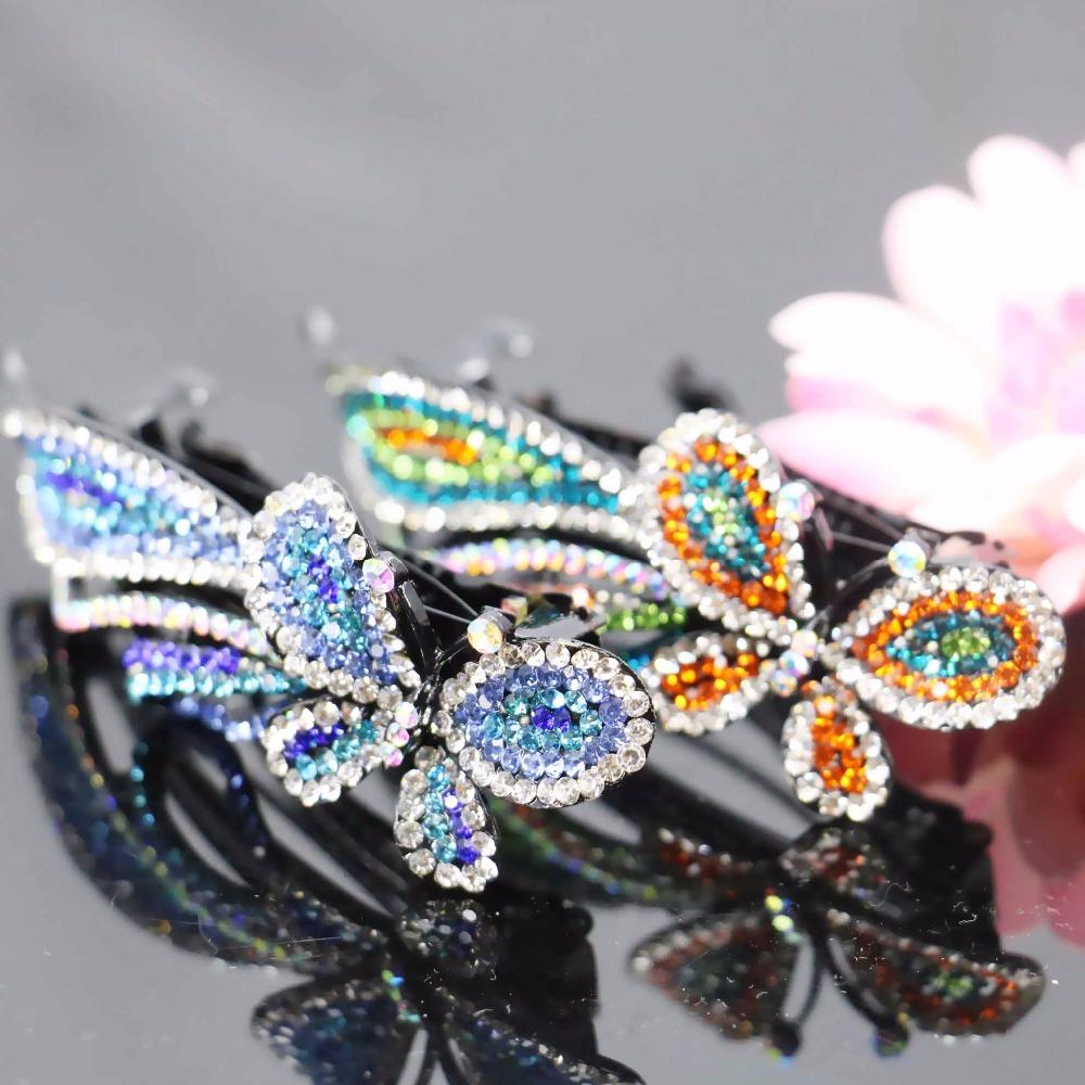 27*96mm Gifts For women Girls Wedding Headdress Headband Head Bands Headpiece Bows Crystal Rhinestone Jewelry Making(China (Mainland))