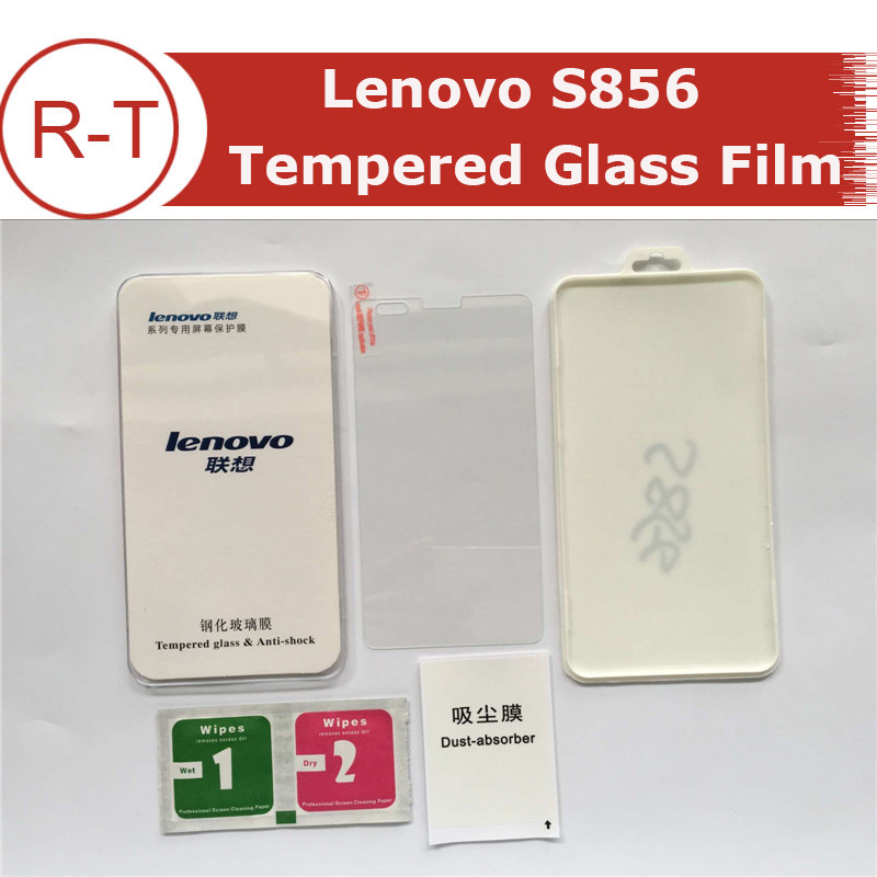 For Lenovo S856 Tempered Glass Original Dust Proof 5.5inch Screen Protector Glass Film for Lenovo S856 Smart Phone+Free Shipping(China (Mainland))