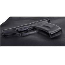 Unique women messenger bags 3D Print Gun Bag Designer Pistol Handbag Black Fashion Shoulder Bag Day