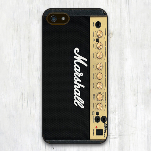 Marshall Amp Amplifier Cool Print Soft TPU Black Skin Mobile Phone Cases For iPhone 6 6S Plus 5 5S 5C 4 4S Back Cover Bags Shell