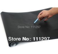 Free shipping 60pcs 45CM*200CM Blackboard Home Sticker, Removable Wall Decal, Chalkboard Stickers