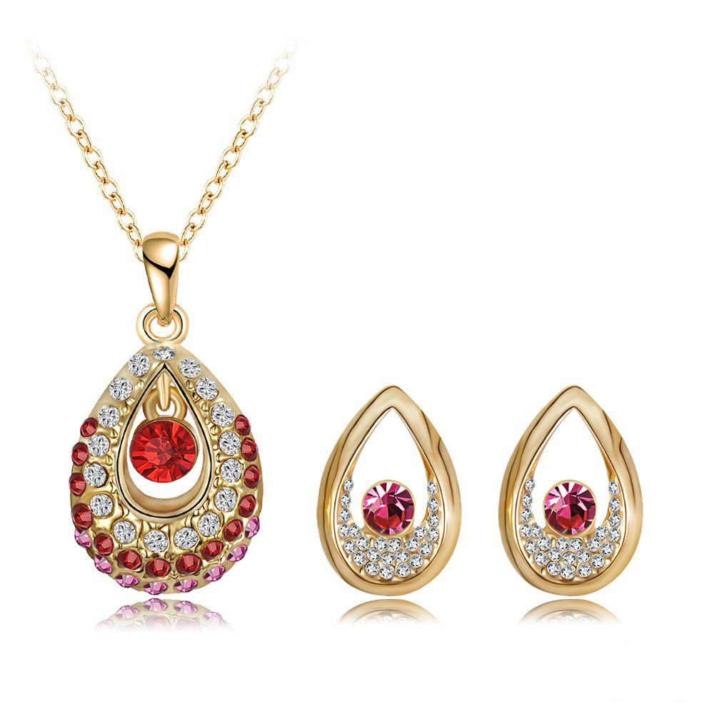 2015 new arrival jewelry set 18k gold plated with