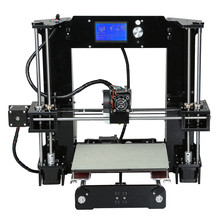Upgrade M505 Full Acrylic Reprap Prusa i3 LCD 3d printer DIY Kit printer 3d-metal-printer support 0.1mm Print with 15M Filament