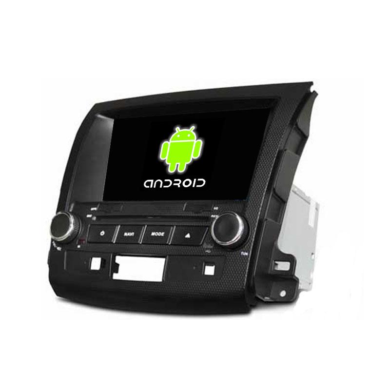 Quad Core 1024 600 Android 5 1 1 Fit Mitsubishi OUTLANDER 2006 2007 2008 2009 2010